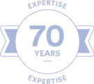 70 YEARS EXPERTISE